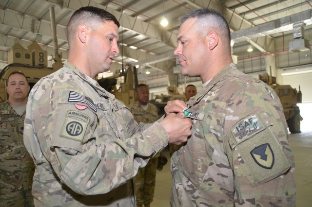 Ayvazian awarded ARCOM | Article | The United States Army