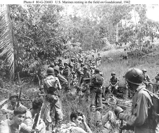World War II veterans gather at Arlington to mark 70th anniversary Guadalcanal Campaign