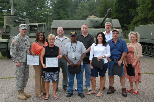 Thank, you Team Fort A.P. Hill. Hooah!!