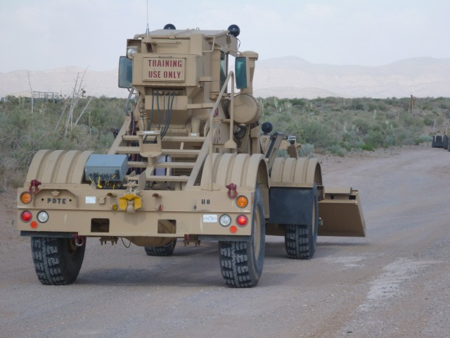 Division West Soldiers test new technology to defeat IEDs