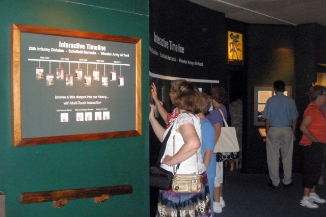 The Tropic Lightning Museum, Bldg. 361, Schofield Barracks, offers visitors the opportunity to access historical artifacts electronically.