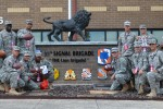 35th Theater Tactical Signal Brigade Soldiers visit Falcons Camp