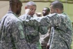 316th ESC soldiers learn hand-to-hand combatives skills