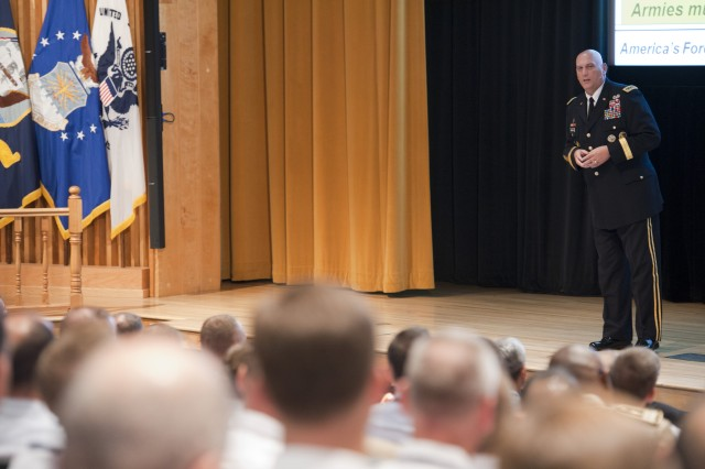 Odierno to War College students:   Education, adaptability key to future of Army
