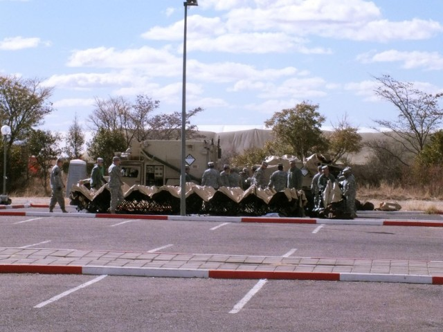 USARAF fields command contingency post for first time in Africa