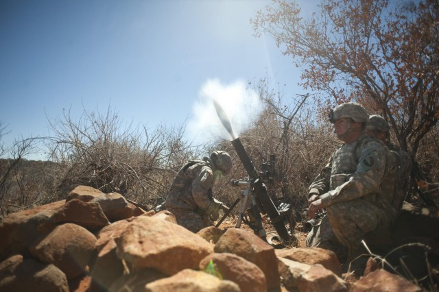 New Jersey soldiers perform assault and support-for-fire missions