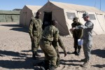 US and BDF Medical Corps joint training enhances military capabilities and interoperability