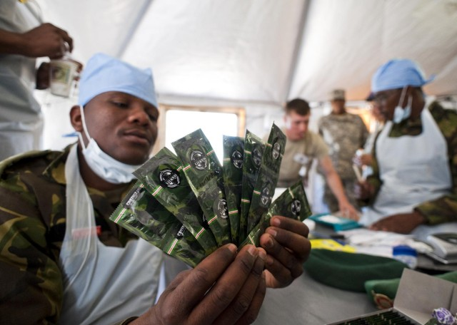US forces work with BDF to provide humanitarian support in Botswana