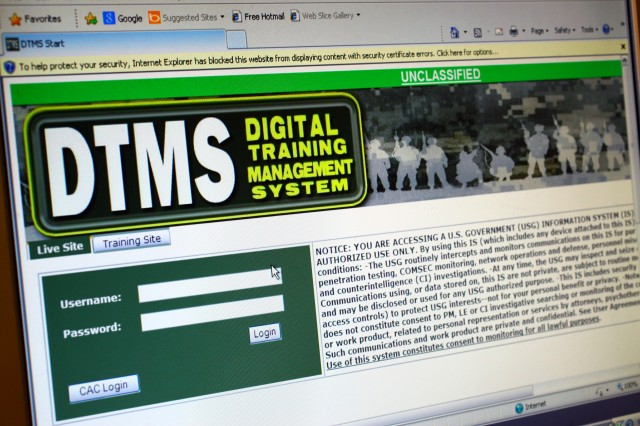 Fort Sill will migrate to the web-based Digital Training Management System Oct. 1 to register and track Army Traffic Safety Training Program courses for Soldiers, including motorcycle and driving safety classes.