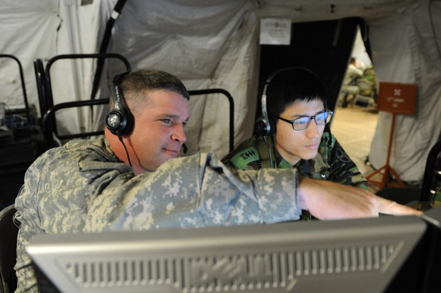 Eighth Army is training for its new mission as a Field Army headquarters during Ulchi Freedom Guardian 2012.
