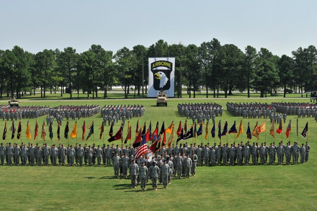 Colors of the 101st Airborne Division (Air Assault)