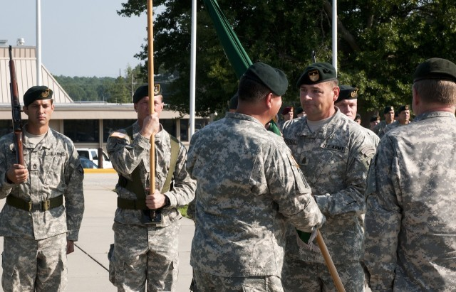 Reeder assumes command of Special Warfare Center and School