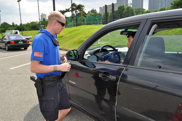 Safety checkpoint ensures Yongsan's safety