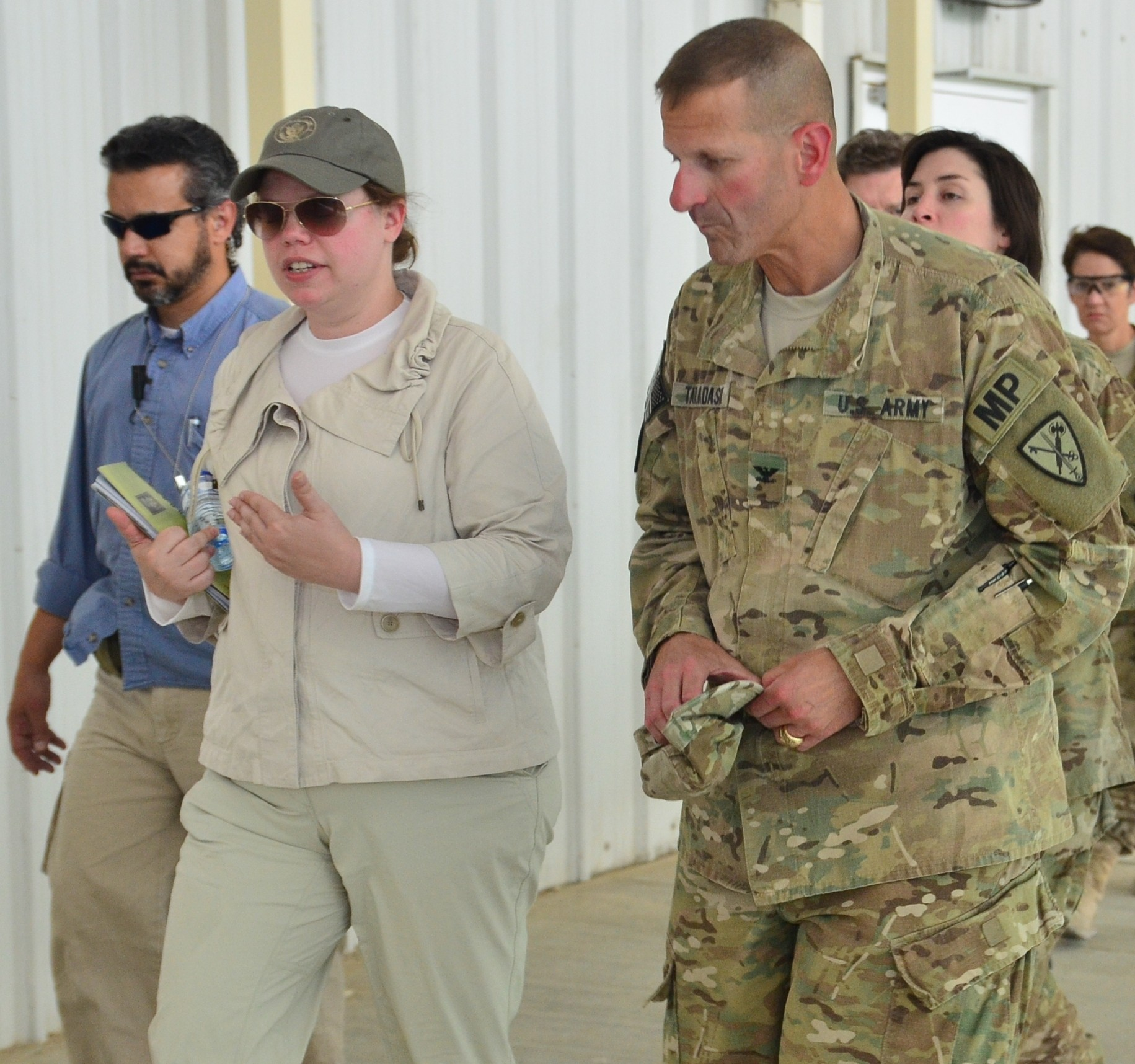 Hasc Camp: U.S. Staff Delegation Tours The DFIP