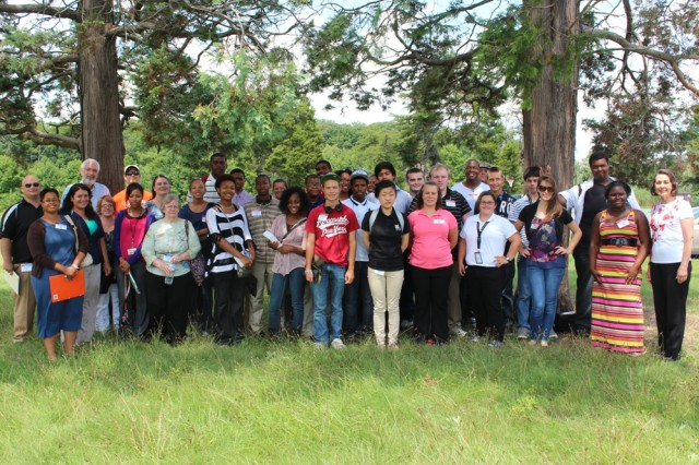 ECBC hosts tour for Joint Science and Technology Institute participants