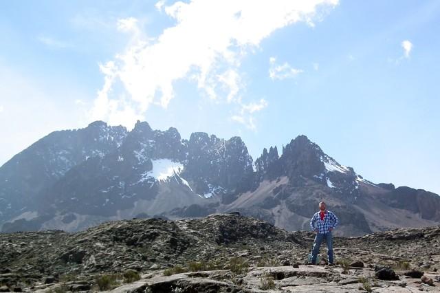 Jay Wallace climbs Kilimanjaro.