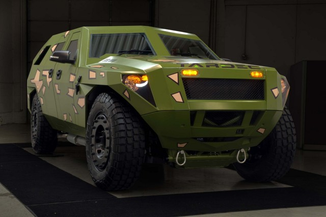 Army engineers at the U.S. Army Research, Development and Engineering Command's tank and automotive center are working on the next generation Army vehicles by testing concepts such as the Fuel Efficient Demonstrator-Bravo.