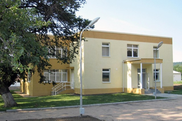 The U.S. Army Corps of Engineers Middle East District, through its Kazakhstan Resident Office, is completing kennel facilities at three locations in that country. Kennel facilities help Central Asian States counter trafficking in narcotics.