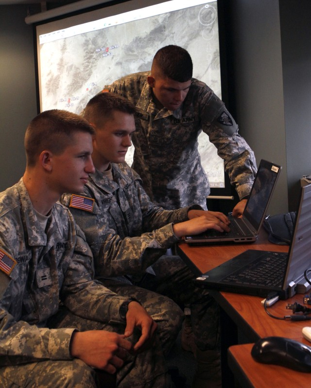 West Point cadets support counter-IED project