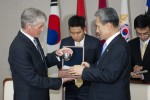 On the road with Secretary McHugh - South Korea