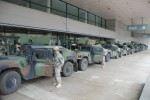 Louisiana Guard members staged, ready to respond, support community as Hurricane Isaac makes landfall