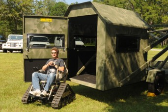 New Equipment Helps Wounded Warriors Hunt Article The