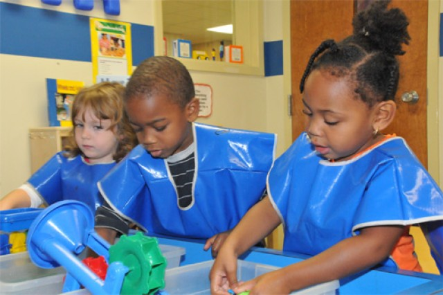 Children enrolled in Child, Youth & School Services programs like the Strong Beginnings Preschool program are taught Character Counts Pillars as part of every day curriculum. Fair play and conflict resolution are often topics for discussion during Middle School and Teen program activities. To coincide with a Department of Defense policy to standardize the cost of childcare across the Services, the Army will institute new fees for Child and Youth Programs beginning Oct. 1, 2012.