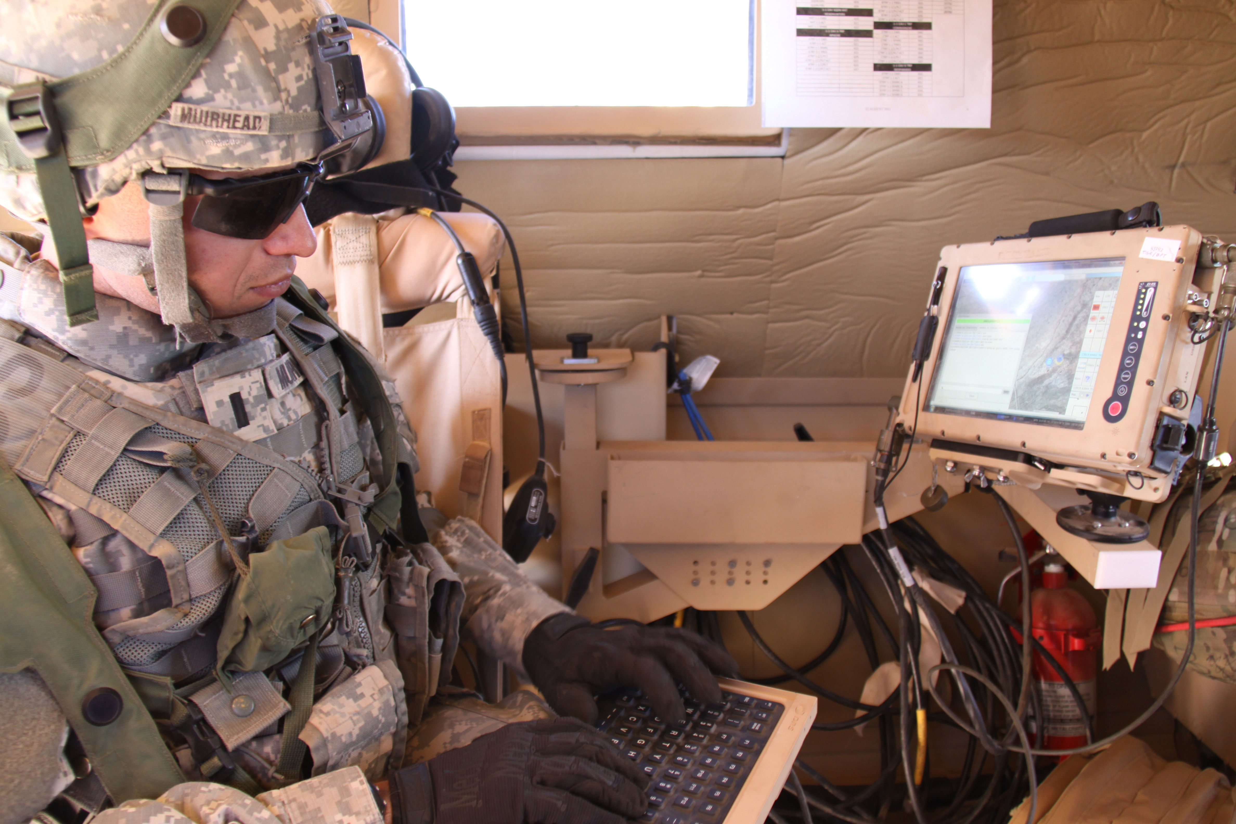 Army Advances Networking Force Tracking Technologies Article