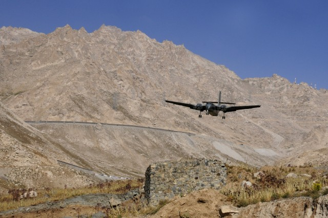 10th Sustainment Brigade makes history, conducts aerial delivery operations at Salang Pass
