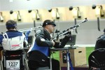 Army Paralympic shooter