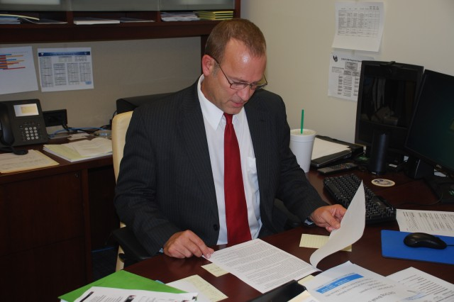 Kevin Richardson serves as deputy director for the CENTCOM Regional Operations Directorate at the U.S. Army Security Assistance Command.