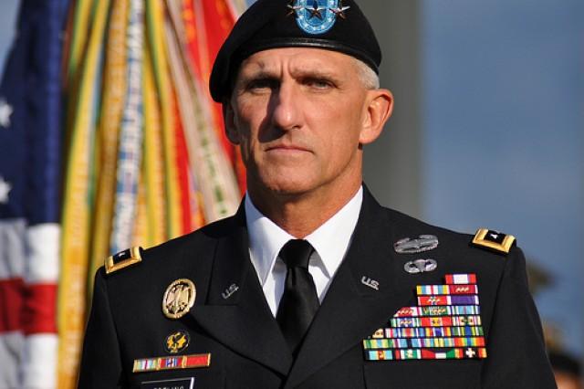 U.S. Army Europe Commanding General Mark P. Hertling.