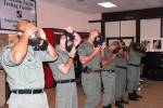 Maryland State Police test gas masks at U.S. Army facility