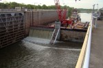 First-ever lock repair successfully completed by Tulsa District at Chouteau Lock 17