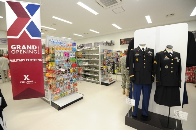 The new Military Clothing Sales store is significantly larger than the previous one and offers a wider selection of items.