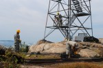 New York Army National Guard Engineers Rebuild Historic Fire Tower