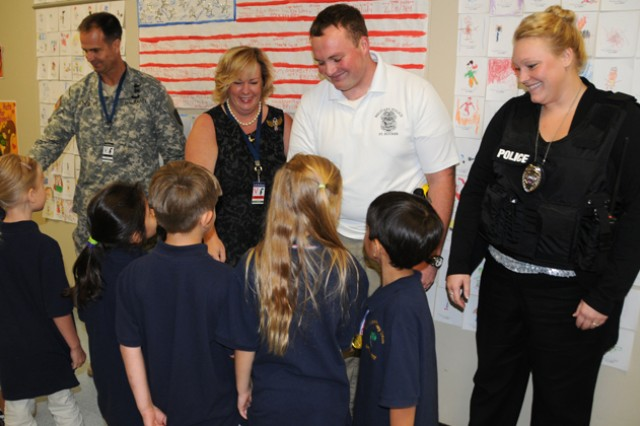 Students learn importance of 'everyday heroes'