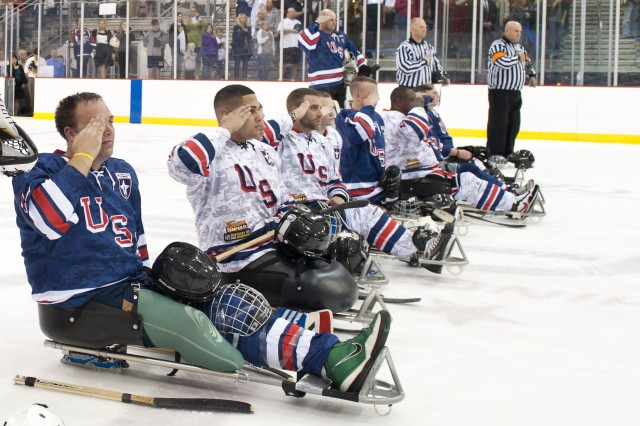 CSA Attends USA Warriors Ice Hockey Game