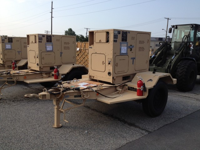 Army delivers fuel-efficient generators, 'right-size' power to Afghanistan