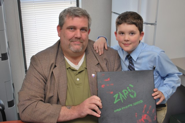 Mikhael Weitzel and his son, Mikhael Jr., hope 2013 is a good year for zombie enthusiasts.