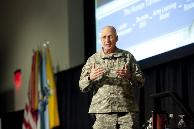 TRADOC commander describes key initiatives, stresses importance of lessons learned in battle