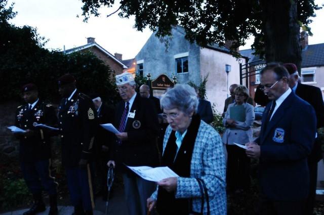 Memorial Ceremony- Quorn, England