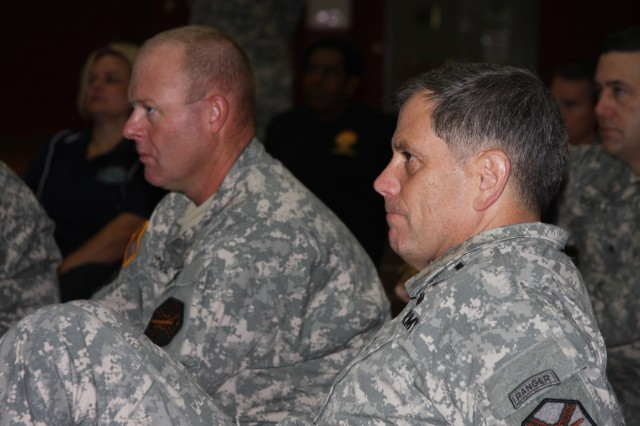 Garrison Leader Course at Fort Sam Houston, Texas.