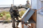 Sustainers use interrogator to track cargo at Afghan-Uzbek border