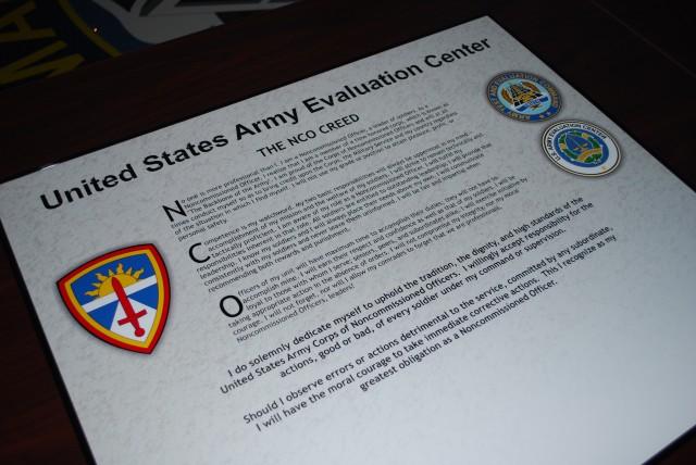 The NCO Creed