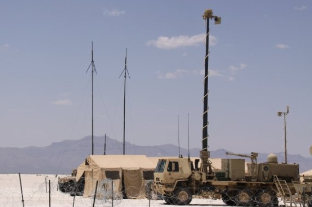 A Warfighter Information Network-Tactical Increment 2 Tactical Communications Node was utilized during the WIN-T Increment 2 Initial Operational Test and Evaluation and Network Integration Evaluation 12.2 at White Sands Missile Range, N.M, in May 2012.