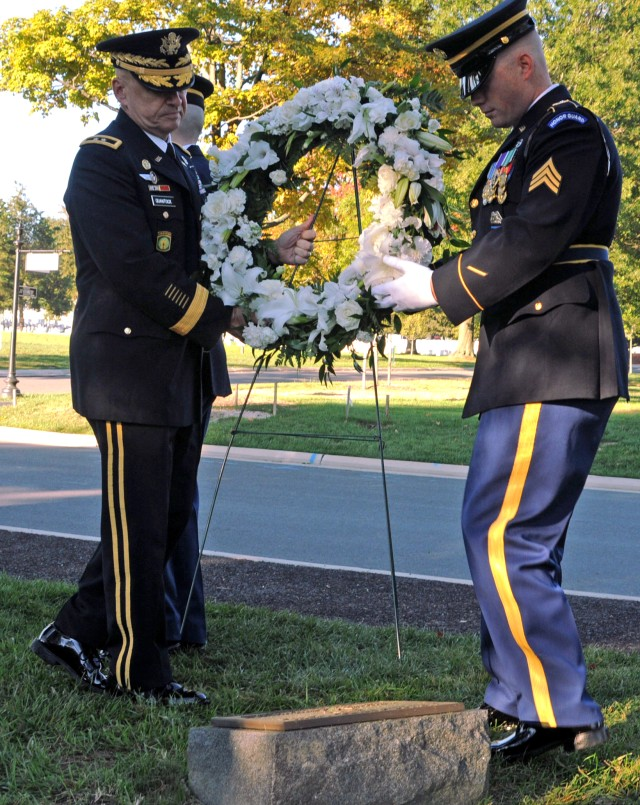 Old Guard honors fallen MPs