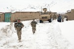 Afghan, U.S. forces 'clean the way' for residents in Shinkai district
