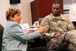 MG Patterson visits CERDEC at APG