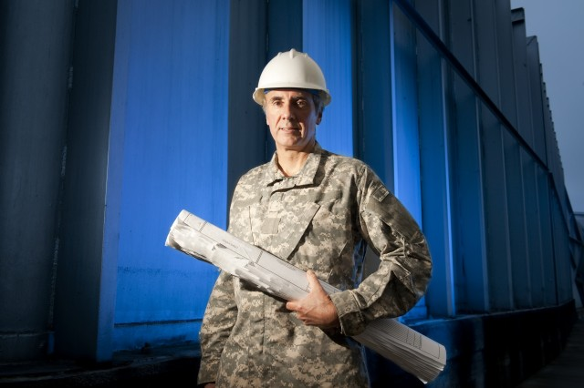 Steve Belmore of Natick Soldier Research, Development and Engineering Center handled 11 projects totaling $450 million during his 18 months in Afghanistan with the Army Corps of Engineers.